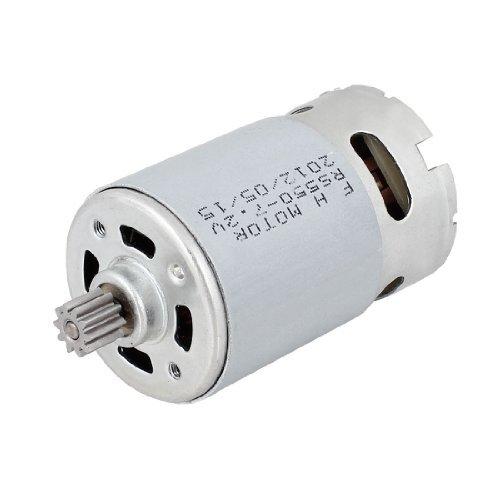 DealMux DC 7.2V 10 Teeth Shank Gear Motor for Hitachi DN10DSA Electric Drill