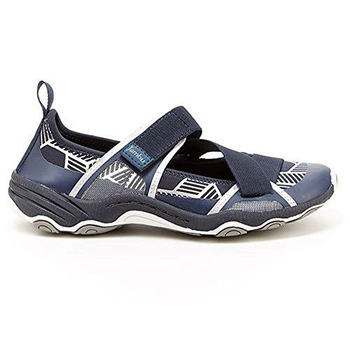 Jambu Womens Omaha-Vegan Sneaker Navy/Charcoal Neoprene/Lycra u49NaIl