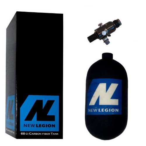 New Legion Paintball Dwarf Composite inkl. Regulator, 1.1 Liter, 61505