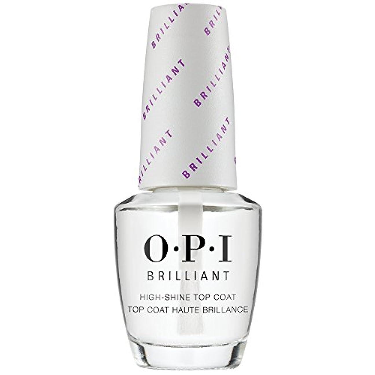 冷える贈り物誇張OPI(オーピーアイ) オーピーアイ ブリリアント トップコート