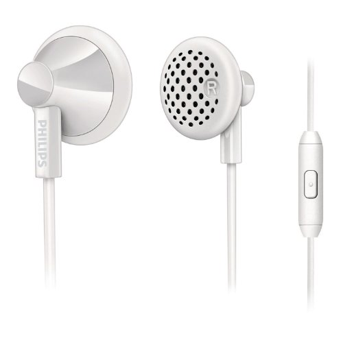 Philips In-Ear Headset with mic SHE2105WT White