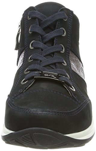 Ara Osaka, Sneaker a Collo Alto Donna Blau (Blau, Titan)