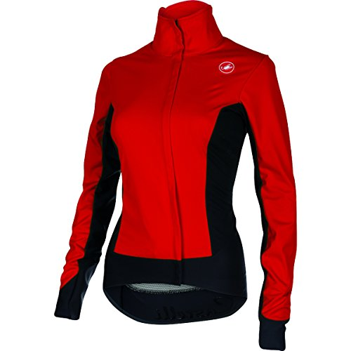 Castelli Alpha Jacket - Women's Ruby Red/Black, S (Fast Jacket Positive Red compare prices)