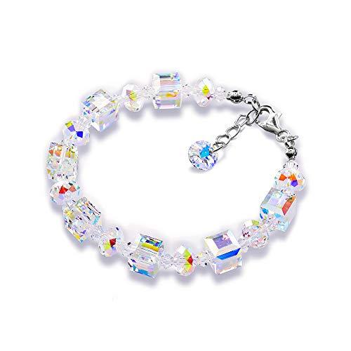Pariser Crystals Charm Bracelet Hypoallergenic