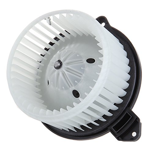 OCPTY A/C Heater Blower Motor ABS w/Fan Cage Air Conditioning HVAC Replacement fit for 2002-2008 Dodge Ram 1500 2500 3500 4000/Jeep Grand Cherokee