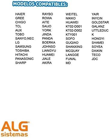 Mando universal para aire acondicionado Digivolt UN-51: Amazon.es: Bricolaje y herramientas