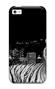 Nannette J. Arroyo's Shop Hot Premium Tpu City Dark Tiger Cover Skin For Iphone 5c