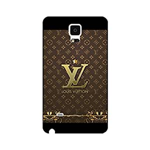 Louis and Vuitton Phone Case Cover Fashion Design Louis with Vuitton Logo Exquisite Samsung Galaxy Note 4 Phone Back Case