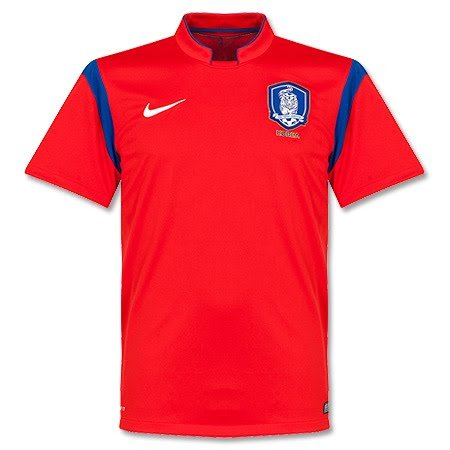 Nike Men's Korea Republic Home Stadium Jersey World Cup 2014 [Challenge Red] (S)
