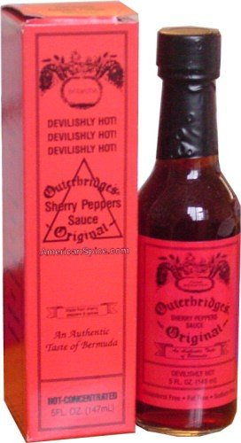 Outerbridge S Devilishly Hot Sherry Pepper Sauce