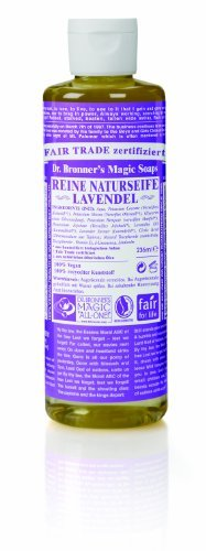 - Dr Bronners Magic Soap All One Csla16/76416 16 Oz Lavender Dr. Bronner'S Pure Castile Liquid Soaps