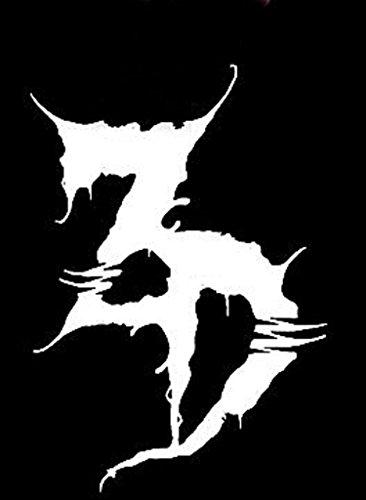 Zeds Dead Logo EDM DJ Logo Decal Vinyl Sticker|Cars Trucks Walls Laptop|WHITE|5.5 x 4 In|CCI262