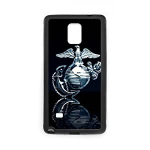 American Flag Marine Corps Custom Case for SamSung Galaxy Note4 (Laser Technology)