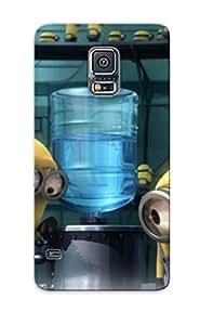Podiumjiwrp Cute Tpu VtrWlWj2583nTgXI Minions Case Cover Design For Galaxy S5