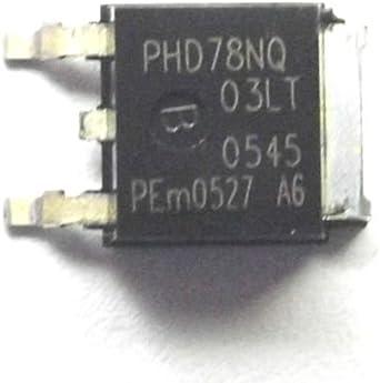 Philips) Nxp Phd78Nq03Lt Phd78Nq Trans Mosfet N-CH 25 V 75 A 3 pin ...