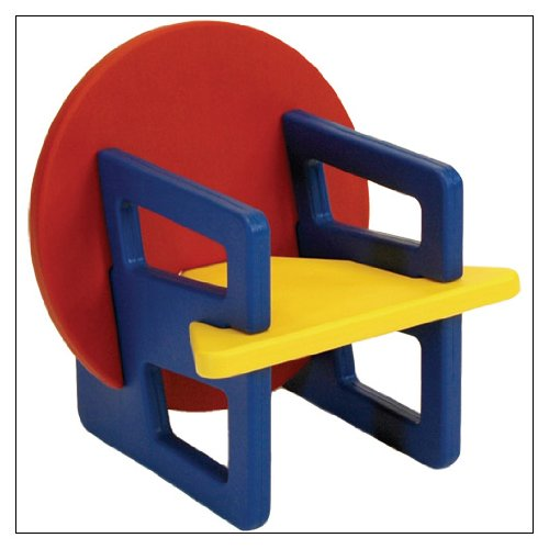 Puzzle Chair in Primary colors by Offi & Co.