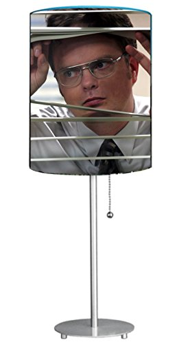(WOW Rare The Office Dwight Schrute Promo Lamp 19 inches tall)