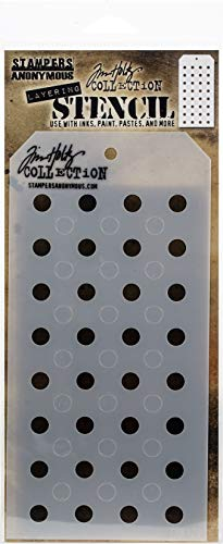 (ART GONE WILD THS-109 Tim Holtz Layered 4.125