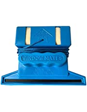 Australian Made Double Sided Magnetic Window Cleaner Suitable for up to 15mm Glass. Includes Balcony and Swimming Pool surrounds. Bonus Set of Replacement sponges and Blades. 24 Months Warranty.