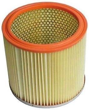 Puce Filtro Aire HEPA cilindrico Cubo Aspiradora Aspirador AEG 50269739004: Amazon.es