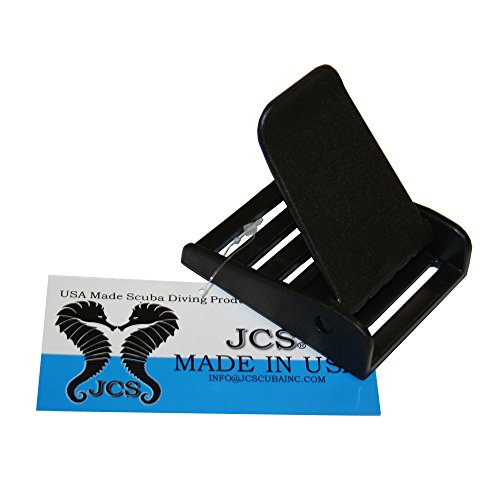 JCS Glass Filled Delrin (Plastic) 3-Slot Belt Buckle