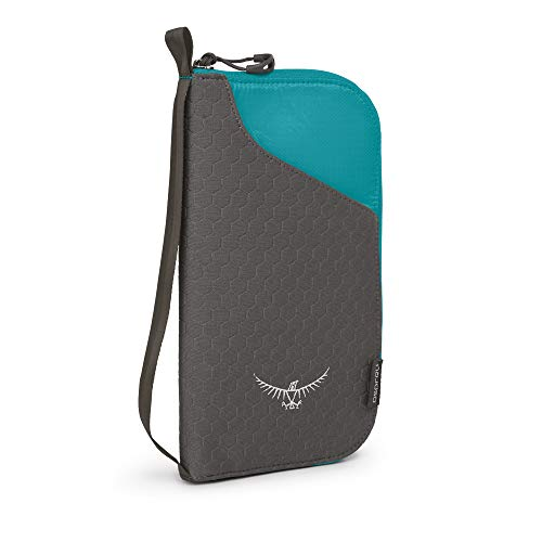 (Osprey Packs Document Zip, Tropic Teal, One Size)