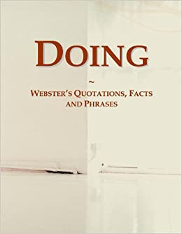 Book Doing: Webster's Quotations, Facts and Phrases