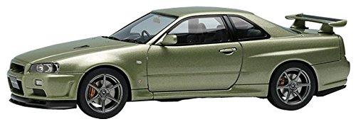 - Eidolon 1/43 Nissan Skyline GT-R (BNR34) V Spec II Nur 2002 Millennium Jade Finished Product