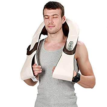 Amazon.com: Taiji Roller Muscles Kneading Massager for Neck Shoulder ...