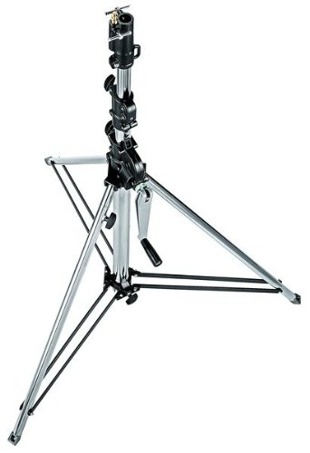 Manfrotto 087NWSHB Short Wind Up Stand - Special Order Only (Black)