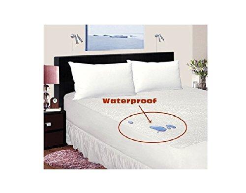 Bed Bug/Allergy Relief %100 WATERPROOF Zippered Vinyl Mattress Cover/Protector %100 SATISFACTION & MONEY BACK GUARENTEE, Queen