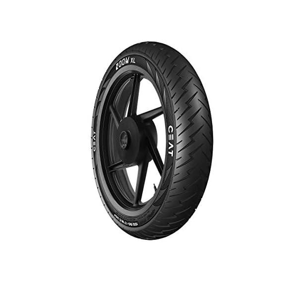 Ceat Zoom XL 130/70-17 62P Tubeless Bike Tyre, Rear