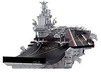 Sluban Army 9-in-1 Set, Builds into Aircraft Carrier with All 9 Sets, 100% Lego Compatible, Model # M38-B0537.