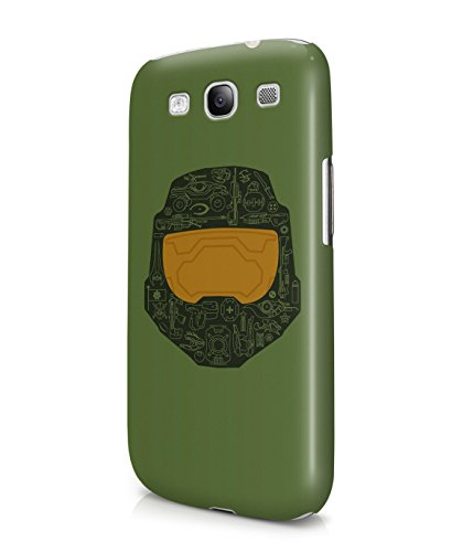 Master Chief Halo Plastic Snap-On Case Cover Shell For Samsung Galaxy S3