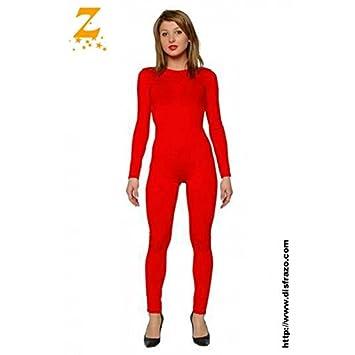 Mono Color Rojo Spandex M-L V0akxlGm