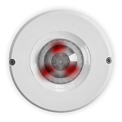 PY5 – Pyronix pulpo EP 360 grados pir (montaje en techo Quad de enclavamiento Sensor