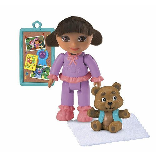 Dora Magical Welcome House Figure - Bedtime Dora by Dora the Explorer