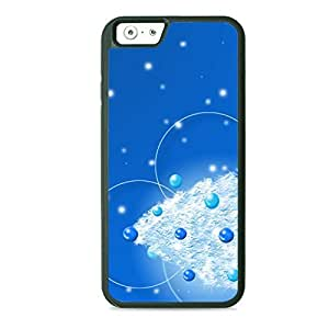 Case Fun Case Fun Christmas Tree Blue TPU Rubber Back Case Cover for Apple iPhone 6 4.7 inch