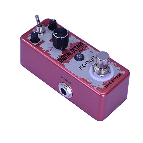 Koogo Precise Polyphonic Octave Effect Generator Pedal True Bypass