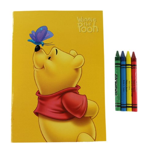 Yellow Winnie the Pooh Coloring Book - Winnie the Pooh Activity Book