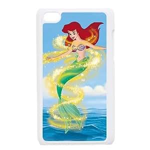 Little Mermaid III Ariel's Beginning iPod Touch 4 Case White oil qwqk