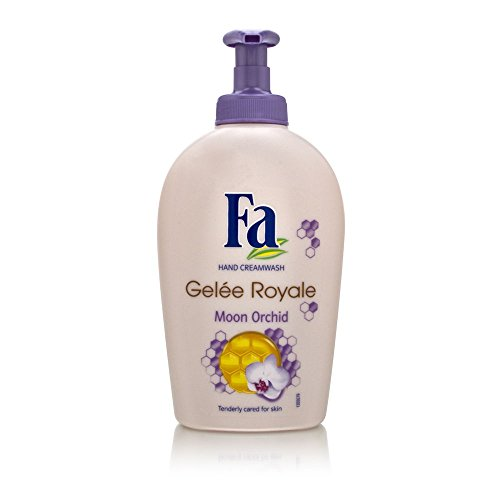 [Fa Hand Creamwash - Gelee Royale Moon Orchid with Gelee Royale 250ml/8.5oz] (Fitch Orchid)