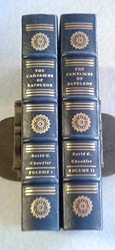The Campaigns of Napoleon 2 Volumes Easton Press - Easton Leather