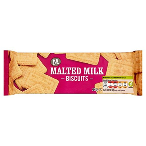 Morrisons Malted Milk Biscuits 200g