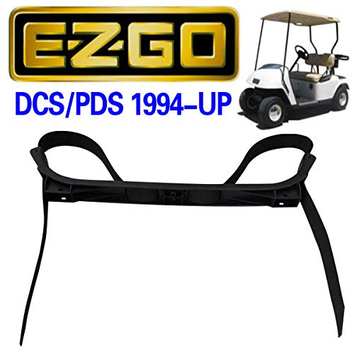 No. 1 accessories 71851-G01 Rear Seat Bag Attachment Holder Bracket,Bag Strap Rack Assembly for EZGO Golf Cart Medalist & TXT DCS/PDS