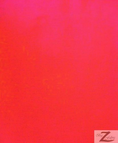 SOLID POLY COTTON FABRIC - Fuchsia - SOLD BTY POLYCOTTON 58