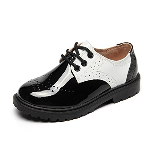 Dress Ups For Kids (O&N Children Boys Girls School Uniform Oxford Dress Shoe Loafer Lace-ups( Toddler/Little Kid/Big Kid ))