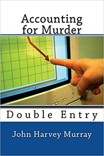 An accountant beats the detectives at solving a murder in this book, 'Accounting for Murder, Double Entry'.