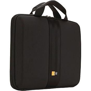 """Case Logic QNS-111 11.6"""" Chromebook/MacBook Air/Surface 3 Sleeve (Black)"""