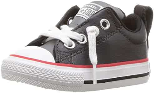 a726c9fbe1f Converse Kids  Chuck Taylor All Star Street Slip on Leather Low Top Sneaker